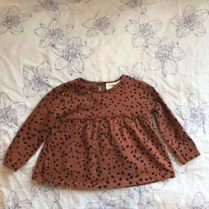 Zara 12/18M long sleeve shirt. EUC